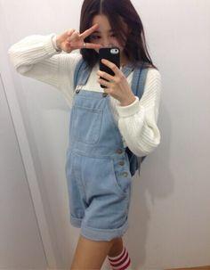 Image via We Heart It #americanapparel #fashion #kfashion #korean