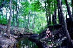 Wilderness photoshoot. Portraits. In the woods fling photography.