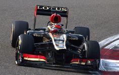 Round 3, UBS Chinese Grand Prix 2013, Race, P2 #7 Kimi Raikkonen (Above) and P9 #8 Romain Grosjean, Lotus F1 Team
