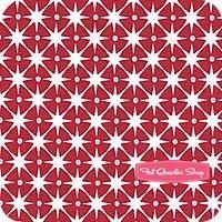 Ella's Basics Red and Blue Stars Yardage <br/>SKU
