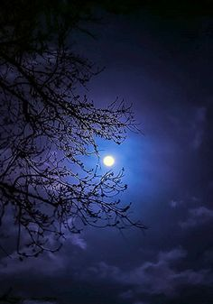 """mistymorningme: """"Glow by mistymorningme Beautiful Moon Pictures, Nature Pictures, Mystic Moon, Moon Images, Moon Photography, Moon Art, Blue Moon, Amazing Nature, Night Skies"""