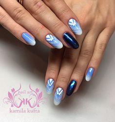 paznokcie nails ombre
