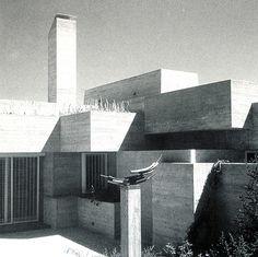 Garcia-Valdecasas House. Somosaguas, Madrid,1965.