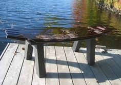 Bench or Table. Going to do this whenever we get a new wakeboard!