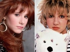 Tiffany and Debbie.  Back in the days when teenage singers were innocent.