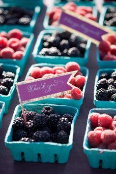 Souvenirs originales y economicos con paso a paso: Recuerdos con frutos rojos (frambuesas, moras, cerezas)