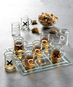 Take a look at this Jay Import Tic-Tac-Toe Shot Glass Game Set by Jay Import on #zulily today!