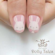 Nails with rabbits