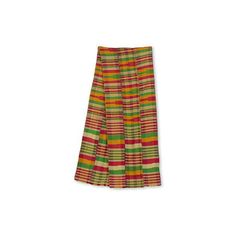 NOVICA Pink Green and Orange Kente Cloth Scarf (3 Strip) ($120) ❤ liked on Polyvore featuring accessories, scarves, clothing & accessories, pink, novica, woven scarves, pink scarves, colorful scarves and pink shawl