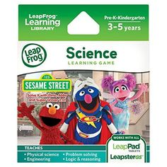 LeapFrog Learning Game: Sesame Street Solve it with Elmo (for LeapPad Tablets and LeapsterGS), http://www.amazon.com/dp/B00CG0CL1S/ref=cm_sw_r_pi_awdm_dFAGvb0XTB3YV