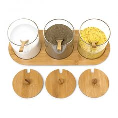 Držiak na korenie Jiao, Bamboo Glass Barware, Place Card Holders, Glass, Bamboo, Drinkware, Corning Glass, Yuri, Tumbler, Tumbler
