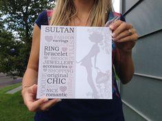 Ecco cosa abbiamo stampato per Sultan Collection