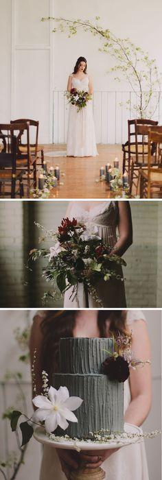 Moody, Romantic Wedding Inspiration as seen on GWS!