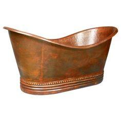 Great color! Cowboy tub:)