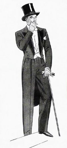 Image result for drawing of a gentleman