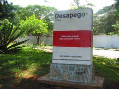Em frente ao cemitério do Campo Grande