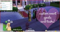 Prom Mod Custom Event at Brittpinkiesims