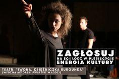 """Prosimy o głos w konkursie """"Energia Kultury""""! http://www.ec1lodz.pl/glosuj"""