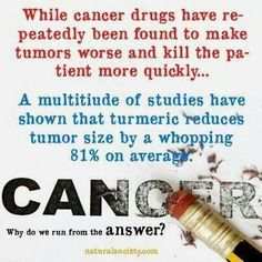 Tumeric against cancer cells