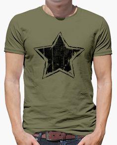 Camiseta Ultra Grunge Star - Black Edition
