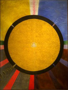 From Cave to Canvas website, Hilma af Klint,Group X, No. 3, Altarpiece, 1915 via Tom O'Connor