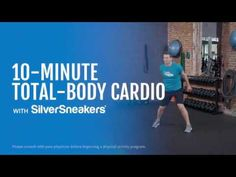 Cardio, Easy At Home Workouts, Medicine Journal, 10 Minute Workout, Senior Fitness, Workout Videos, Exercise Videos, Excercise, Flexibility Workout