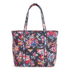 Vera Bradley Get Carried Away Women's Tote Bag, Gray Prada Bag, Prada Handbags, Louis Vuitton Handbags, Tote Handbags, Trendy Handbags, Large Handbags, Vera Bradley Tote Bags, Vera Bradley Handbags, Large Tote