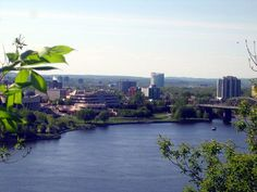 view of Hull from Ottawa