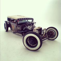 Sailor Jerry rat rod