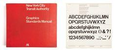 Bob Noorda, Massimo Vignelli, Unimark International, Manuale per la segnaletica della Metropolitana di New York / New York subway sign system, 1966, courtesy Ornella Vitali Noorda