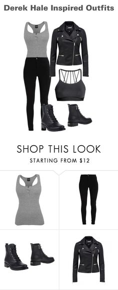"""""""Derek Hale Inspired Outfit"""" by lexi-pierce123 ❤ liked on Polyvore featuring Le Silla"""
