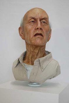 sculpture. grandpa?