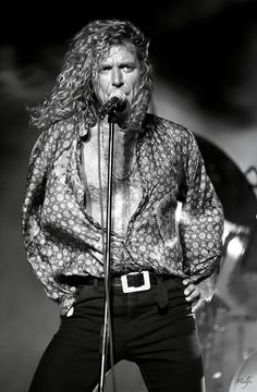 """Robert Plant...... or as I like to call him """"my lion"""""""