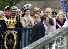 Crown Princesses Mary, Maxima and Mette Marit- Princess Victoria's wedding