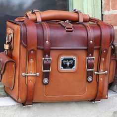 The Lewis Expedition Bag from Leather Built is quality made in Seattle from The Leather Shop.  It is a marvel of leather crafting.