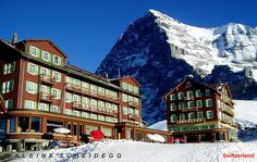 Hotel Das Alps, Kleine Scheidegg, Switzerland  Kleine Scheidegg by alesduchac on Flickr.