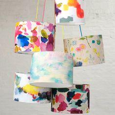Impressionist Lampshade | bluebellgray