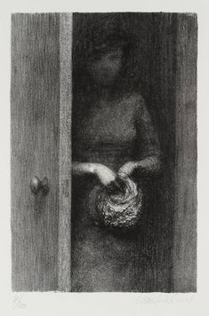you are a poem that breathes - dappledwithshadow: Harry Holland Door 1982 Figure Painting, Painting & Drawing, Ap Studio Art, Chiaroscuro, Art For Art Sake, Gold Art, Pencil Illustration, Contemporary Paintings, Art Studios