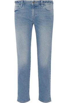 The Phoebe mid-rise slim boyfriend jeans #baggyjeans #women #covetme #mihjeans