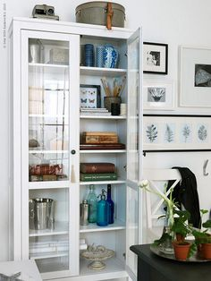 IKEA display cabinet.....