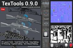 renderhjs writes: TexTools version 0.9.0 is out! You can download it free from my new TexTools website. In depth features and documentation can be found here. TexTools is a Free addon for Blender 3D with a set of professional UV and Texture tools. Back in 2009 I released the Original TexTools for 3dsMax. Features: SizeRead More