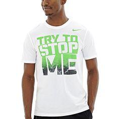 NIKE Nike Men'S Try To Stop Me Tee Shirt Top. #nike #cloth #