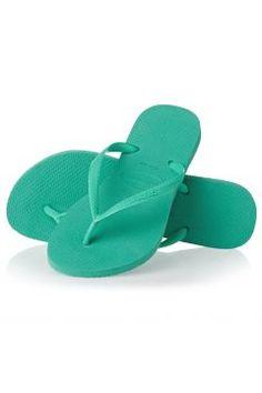 Havaianas Flipflops - Havaianas Flip Flop - Mint Green https://modasto.com/havaianas/kadin-ayakkabi/br1295ct13 #modasto #giyim