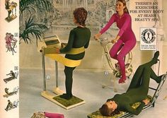 This is how women exercised before Jane Fonda became the craze.