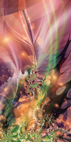 JikaBotanika- by silwenka.  (fractal art)
