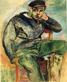 The Young Sailor I, 1906  Henri Matisse