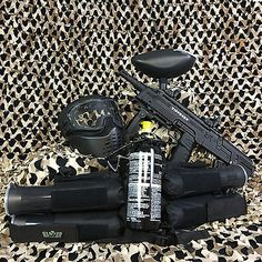 NEW Tippmann Tactical Compact Rifle (TCR) EPIC Paintball Marker Gun Package Kit