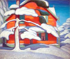 View Pine tree and red house, winter, city painting II by Lawren Harris on artnet. Browse upcoming and past auction lots by Lawren Harris. Tom Thomson, Group Of Seven Artists, Group Of Seven Paintings, Canadian Painters, Canadian Artists, Needlepoint Patterns, Counted Cross Stitch Patterns, City Painting, Painting & Drawing