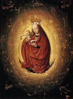 """Geertgen tot Sint Jans, """"Madonna of the Rosary,"""" c. 1480"""