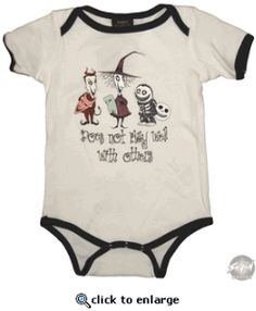 Nightmare Before Christmas Baby Shower | ... licensed nightmare before christmas onesie in which these nightmare
